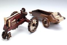 Wood Toys Plans, Antique Tractors, Wood Ideas, Amish, Yard Art, The Collector, Wooden Toys, Antiques, Projects