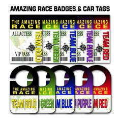 """Paper Perfection: Free """"Amazing Race"""" Birthday Party Invitation. One Color per Family!"""