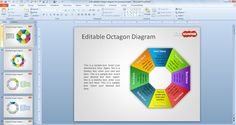 Free Editable Octagon Diagram for PowerPoint - Free PowerPoint Templates - SlideHunter.com