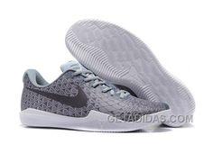 0a861ad8f966 Nike Kobe 12 Grey Black-White Men s Basketball Shoe For Sale