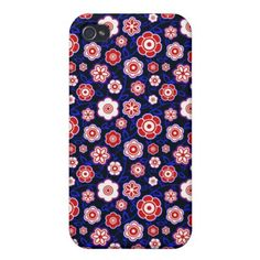Cool oriental japanese floral flower pattern iPhone 4/4S cover #pattern  #kimono #japanese #oriental #flower #floral #sakura #cover #case #girly #iphone4  #apple #iphone #stylish #elegant #trendy