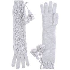 Pepe Jeans Gloves ($28) ❤ liked on Polyvore featuring accessories, gloves, light grey, lightweight gloves and pepe jeans london