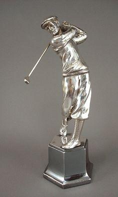 on Jan 2006 Grimm, Golf Trophies, Vintage Golf, Silver Lining, Geometric Shapes, 1930s, Fashion Art, Art Decor, Art Nouveau