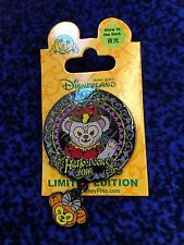 Hong Kong Disneyland Halloween 2016 Shelliemay LE500 Glow in the dark disney pin