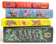 Puffin In Bloom anna rifle bond designed books  A Little Princess, Little Women, Anne of Green Gables and Heidi