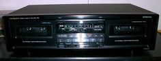 Onkyo TA-RW303 R1 Series Dual Cassette Deck Player / Recorder. This unit is in very good condition. It has been tested and is working.