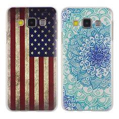 Asnlove per Samsung Galaxy A3 A300 2 pcs/set custodia cover in policardonato plastica rigida protettiva bumper disegno pittura-Blu fiore bandiera Asnlove http://www.amazon.it/dp/B019STFLDY/ref=cm_sw_r_pi_dp_WzsFwb0MTJM6D