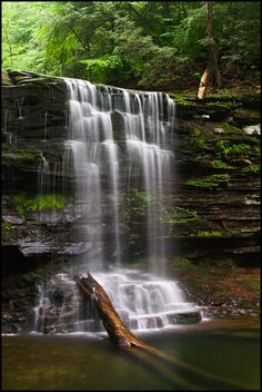 Harrison Wright Falls, Ricketts Glen State Park, Pennsylvania.