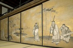 Seven Sages ? Japanese Screen, Taoism, Korean Art, Art File, Japanese Artists, Arrow Keys, Close Image, Kyoto, 18th Century