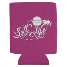 Salt Life On The Horizon Can Koozie (Pink;One Size)