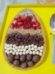 Egg chocolate easter
