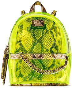 Shop for Victorias Secret Neon Python Small City Backpack by Victoria's Secret at ShopStyle. Mochila Victoria Secret, Victoria Secret Bags, Backpack Bags, Fashion Backpack, Trending Handbags, New Fashion Clothes, Women's Fashion, Small Makeup Bag, Back Bag