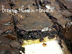 "No guilt ""Brookies"" (Brownie-Cookies!)! And a Clif Bar Giveaway!"