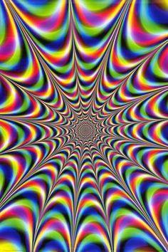 Color Burst Illusion | #Optical #Illusions  Sherman Financial Group