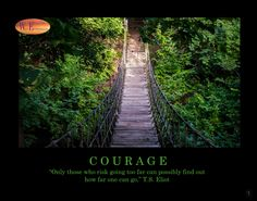 COURAGE by WestExpression on Etsy https://www.etsy.com/listing/478349845/courage