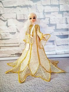 Personalized Guardian Angel dolls, OOAK author's art doll, Baptism gift for a child, Interior doll for decor kids room Barbie Clothes, Barbie Dolls, Best Baby Gifts, Confirmation Gifts, One Hair, Homemade Christmas Gifts, Ball Jointed Dolls, Beaded Flowers, Gifts For Girls