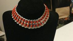 Check out this item in my Etsy shop https://www.etsy.com/listing/231049976/red-soda-tab-choker
