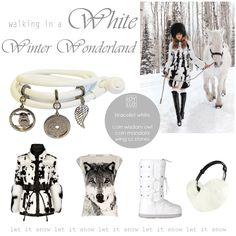Joy de la Luz | Walking in a white winter wonderland