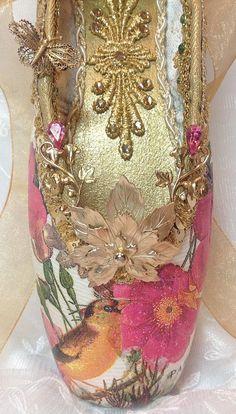 Midsummer Night's Dream decorated pointe shoe Cinderella