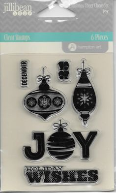 Jillibean Soup Clear Stamp Set   NEW    by CynthiasCraftingNook