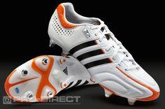 huge discount 30eb9 c909a adidas Fußballschuhe - adidas adipure 11Pro XTRX SG MiCoach - Weicher Boden  - Fußballschuh - Weiß