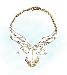 bib necklace template - Buscar con Google