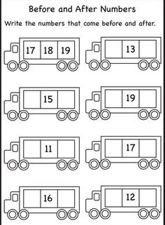 Before and after numbers free kindergarten worksheets, before kindergarten, printable math worksheets, numbers Pattern Worksheets For Kindergarten, Printable Math Worksheets, Number Worksheets, Preschool Worksheets, Free Printable, Math Worksheets For Kindergarten, Vowel Worksheets, Shapes Worksheets, Preschool Math
