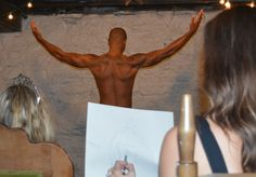 This is one not to miss. Bring your girlfriends and have a great time  drawing the finer details of a Hot Male Model. We will have an art  instructor…