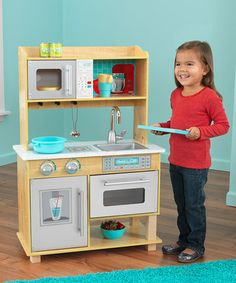 Charming Junior Chefs Kitchen By KidKraft On #zulily Today! | Crafts For Kids    Embracing Creativity | Pinterest | Plays, Kitchens And Toy