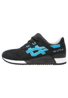 cd5b6e60cc6d GEL-LYTE III - Sneakers laag - black atomic blue - Zalando.nl