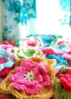 fun with color and yarn...