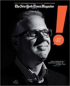 Magazine Cover - The New York Times Magazine - October  3 2010 - Glenn Beck