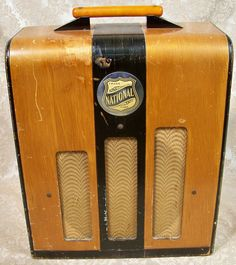 Vintage National Amp
