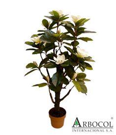 Flor Magnolia 18039  $275625    1.30 cms de alto x 70 cms de ancho
