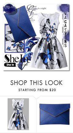 """""""SheIn buterfly"""" by silvijo ❤ liked on Polyvore featuring Rebecca Minkoff"""