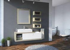 Modna łazienka: 12 kolekcji mebli - Galeria - Dobrzemieszkaj.pl Bathroom Lighting, Mirror, Furniture, Home Decor, Bathroom Light Fittings, Bathroom Vanity Lighting, Decoration Home, Room Decor, Mirrors