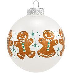 Gingerbread Kids Glass Ornament - 1148704 - $8.99