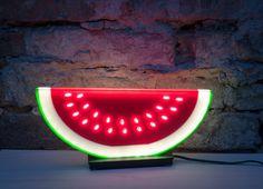 WELON flat plastic night table lamp by riegerdesign on Etsy