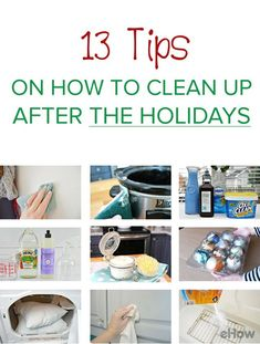 Easy way to clean up your home, organize your decor and get everything back in the best of shape after the long happy holidays!