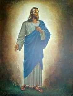 Warner Sallman, Jesus the Light of the World........ ////