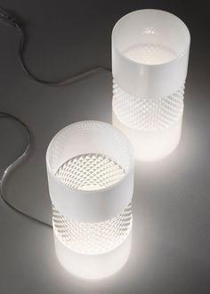 Becky | Bridgewell Consulting LTD #design #glass #white #light #table