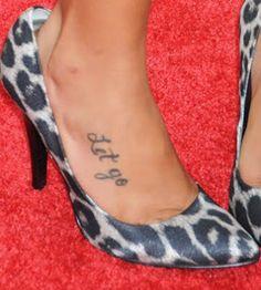 ... : jasmine richards foot tattoo female celebrity tattoo celebrity