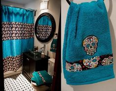Apply discount code: MYSUGARSKULLS to get these items for you bathroom.  Get them here => http://tidd.ly/c8197202  #mysugarskulls