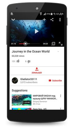 OGYouTube v3.0   OGYouTube v3.0Requirements:4.0Overview:OGYouTube is a modded YouTube app with many features such as Popup Playback &DownloadVideos!  Features You candownloadmultipledownloadsin themeantime You can watch thevideoon Background & Popup Window You can watch thevideowhile the Screen is off You canplayall qualities 140p1440p You candownloadthevideoas [MP3] You candownloadthe subtitles You candownloadany quality Option to press backbuttontwice to exit thevideo  WHAT'S NEW  v3.0…