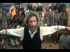 """Gene Wilder in The Frisco Kid 1979. The working title for the film was """"No Knife."""" which his character says in this scene."""