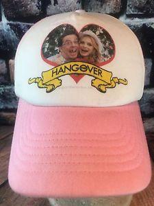 The Hangover Movie Hat Pink White Foam Mesh SnapBack Trucker Las Vegas Wedding  | eBay