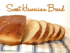 Sweet Hawaiian Bread Recipe   The Misadventures of Mrs. B