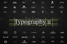 50+26 UNIQUE Typography Logos II by Congruent Graphics on @creativemarket   typography,typography bundle, typography logo,text logo,logo, logos,logo template,monogram,font logo,script,font,line,circle,square, simple,simple and unique,minimal, vintage,modern,vintage logo, minimal logo,kit,logo kit, typographics,stockholm,bundle, retro logo,label,labels,badge, badges,lettering,handmade, calligraphy,display,poster,retro,logo bundle,unique typography,unique…