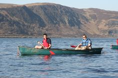 Canoeing: Caban Coch reservoir, Elan Valley Lodge
