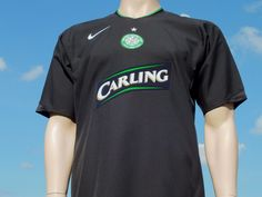 Celtic F.C. 3rd Shirt 2005-2007 Champions League Qualifier Telfer 2 Player Issue - Shirts